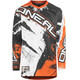 ONeal Element - Maillot manga larga Hombre - Shocker naranja/Multicolor